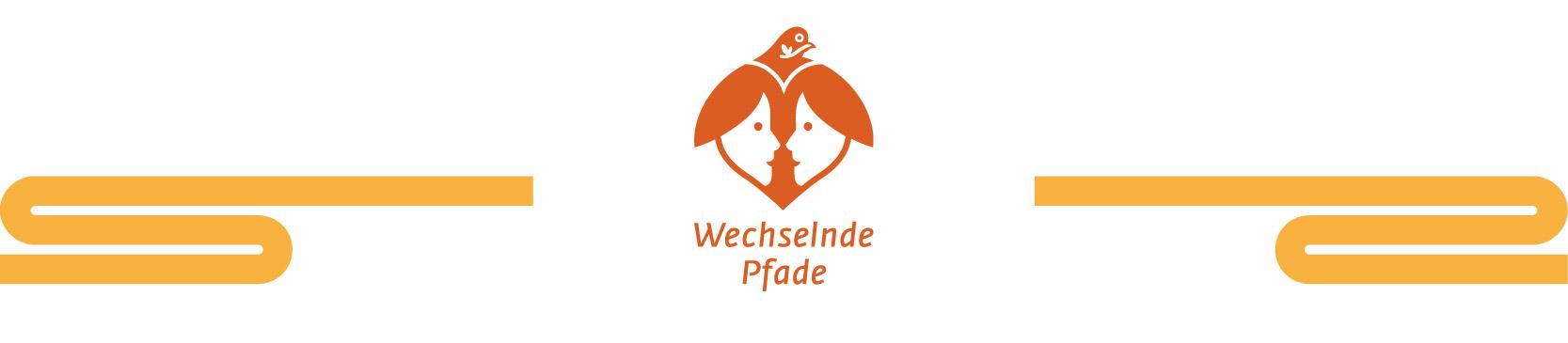 Titelbild von wechselnde-pfade.de mit Logo